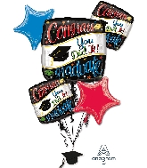 Going Places Bouquet Foil Balloon