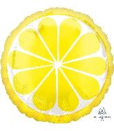 "18"" Tropical Lemon Foil Balloon"