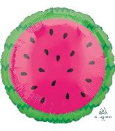 """18"""" Tropical Watermelon Foil Balloon"""