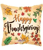"18"" Happy Thanksgiving Foil Balloon"