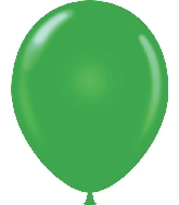 "11"" Standard Green Tuf Tex Latex Balloons 100 Per Bag"