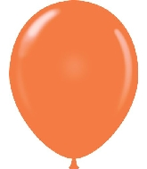 "11"" Standard Orange Tuf Tex Latex Balloons 100 Per Bag"