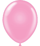 "11"" Standard Pink Tuf Tex Latex Balloons 100 Per Bag"