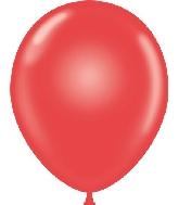 "9"" Standard Red Tuf Tex Latex Balloons 100 Per Bag"