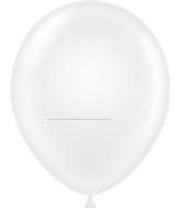 "17"" Crystal Clear Tuf Tex Latex Balloons 50 Per Bag"