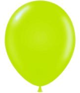 "17"" Pastel Lime Green Tuf Tex Latex Balloons 50 Per Bag"