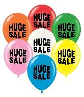 """17"""" Huge Sale Printed Latex Balloons 50 Per Bag"""