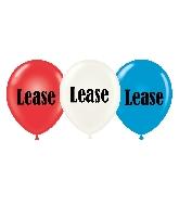 """17"""" Lease Printed Latex Balloons 50 Per Bag"""