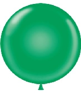 "60"" Standard Green Tuf Tex Latex Balloon 1 Per bag"