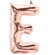 "16"" Airfill Only Letter E - Rose Gold  Letter"