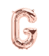 "16"" Airfill Only Letter G - Rose Gold  Letter"