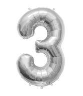 "34"" Northstar Brand Packaged Number 3 - Silver"
