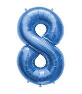 "34"" Northstar Brand Packaged Number 8 - Blue"