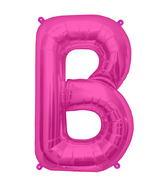 "34"" Northstar Brand Packaged Letter B - Magenta"