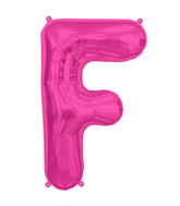 "34"" Northstar Brand Packaged Letter F - Magenta"