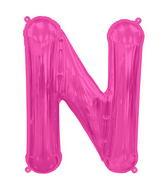 "34"" Northstar Brand Packaged Letter N - Magenta"