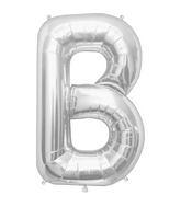 "34"" Northstar Brand Packaged Letter B - Silver"