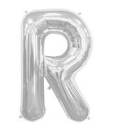 "34"" Northstar Brand Packaged Letter R - Silver"