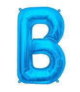 """34"""" Northstar Brand Packaged Letter B - Blue"""