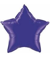 "36"" Star Foil Mylar Balloon Quartz Purple"
