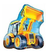 """32"""" Construction Loader Jumbo Mylar Balloon"""