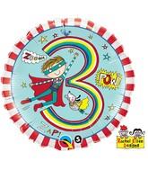 "18"" Rachel Ellen Age 3 Super Hero Stripes"