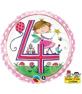 "18"" Rachel Ellen Age 4 Fairy Polka Dots"