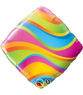 "18"" Wavy Stripes Accent Patterns"