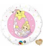 "18"" Precious Moments – Baby Pink Balloon"