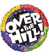 """18"""" Over the Hill Confetti Balloon"""
