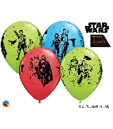 "11"" Star Wars: The Last Jedi Latex Balloons Count"