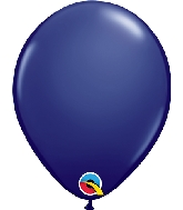 "5"" Qualatex Latex Balloons  Navy 100CT"