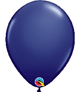 "11"" Qualatex Latex Balloons  Navy 100CT"