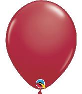 """11"""" Qualatex Latex Balloons  Maroon 100CT"""