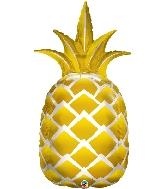 """44"""" Golden Pineapple Foil Balloon"""