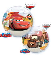 """22"""" Single Bubble Lightning Mcqueen And Mater"""