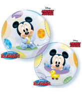 "22"" Single Bubble Baby Mickey"