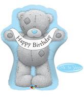 "36"" Happy Birthday Tatty Teddy Bear Balloon"