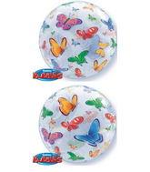 "22"" Butterflies Bubble Balloon"