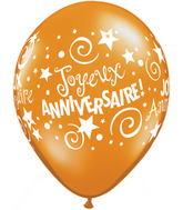 11 Joyeux anniversaire assortiment de festivité 50s