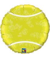 "18"" Tennis Ball Packaged Mylar Balloon"
