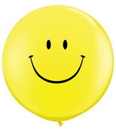 "36"" Smile Face Yellow w/Black Ink (2 ct.)"