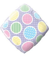 "18"" Polka Dots Accent Patterns"