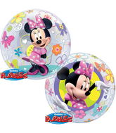 "22"" Minnie Mouse Bow-Tique Bubble Balloons"