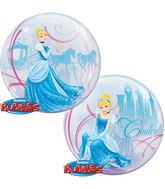 """22"""" Cinderella's Royal Debut Bubble Balloons"""