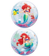 "22"" Ariel The Little Mermaid Bubble Balloons"