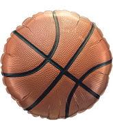 "18"" Pro Basketball Mylar Balloon"
