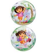 """22"""" Dora the Explorer Boots Bubble Balloon"""