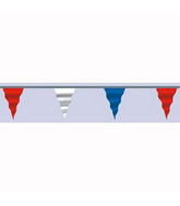 "6"" X 100F Pennant Red White Blue (5.5'– 8' Cloudbuster only)"