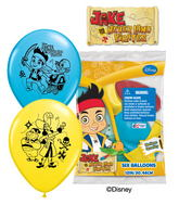 "12"" Jake And The Never Land Pirates 6 pack"